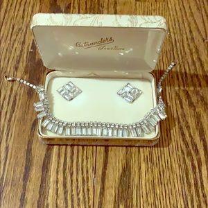 Art Deco costume jewellery set.